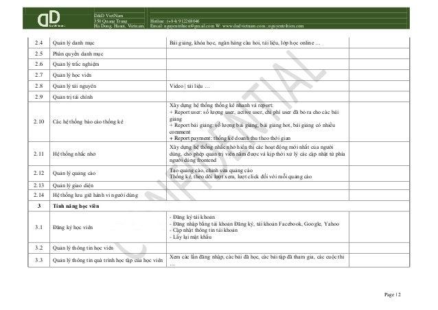 Hệ thống LMS tính năng cơ bản! Slide 2