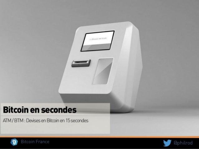 Bitcoin 101 Pourquoi c'est important ? Crédits slides : Philippe Rodriguez Président de l'Association Bitcoin France
