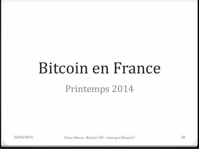 Evénements Bitcoin à venir Date - Lieu Evénement 02/04 - Paris Paris Bitcoin Meetup 09/04 - Bordeaux Bordeaux Cryptocurren...