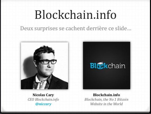 Surprise n°1 Blockchain.info offre 5$ en bitcoin aux cent premiers héticiens avec le code REDACTED SORRY Pour les obtenir ...