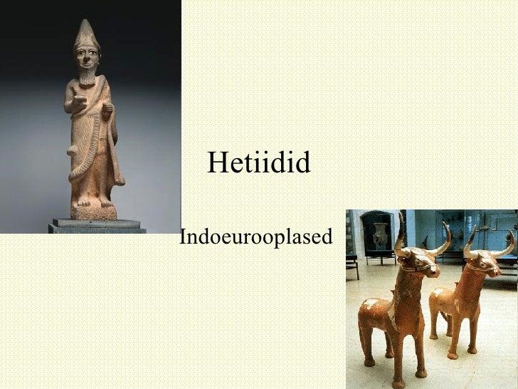 Hetiidid Indoeurooplased
