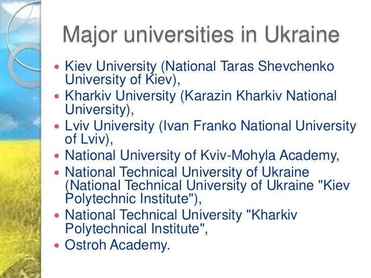higher education in ukraine Law of ukraine of july 1, 2014 no 1556-vii about the higher education.