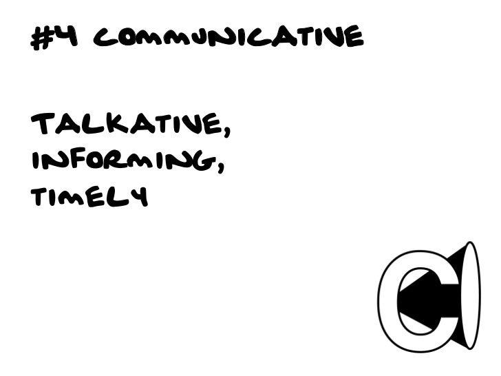 #4 Is it communicative?q Is