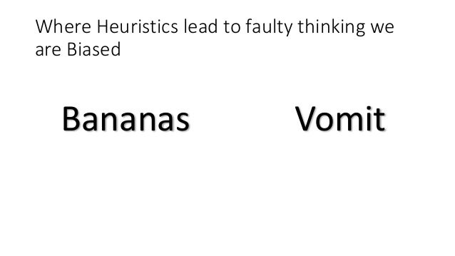 """heuristics and biased The work of tversky and kahneman led to the development of the heuristics and biases research program sources gigerenzer, g, and gaissmeier, w """"heuristic decision making""""."""