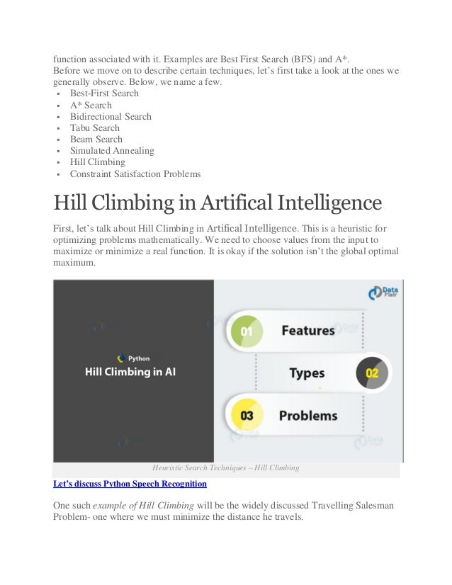 Heuristic search in artificial intelligence