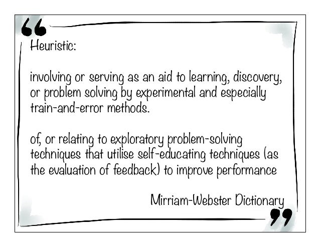 Heuristics for Becoming a Learning Organisation Slide 3