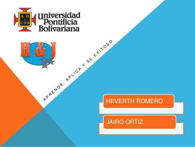 HEVERTH ROMEROJAIRO ORTIZ