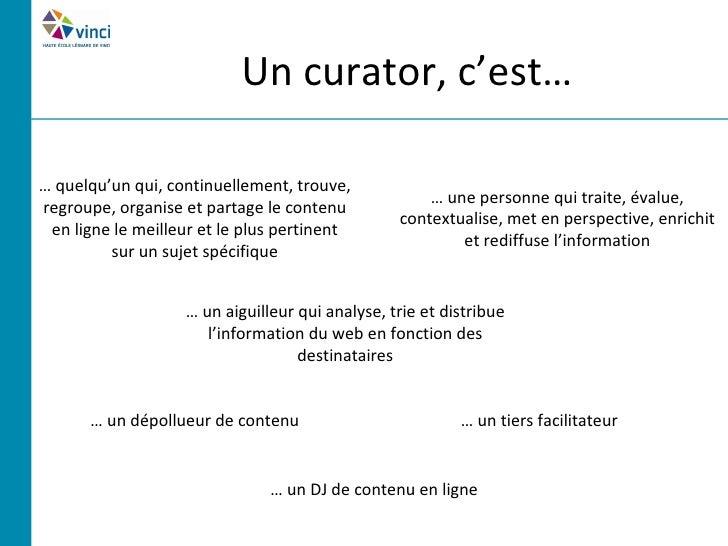 Les bases de la curation     Source : http://pro.01net.com/images/article/574876.jpg
