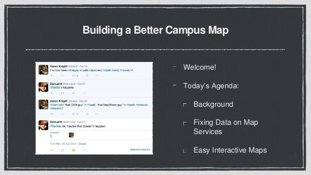 Campus Map Maker.Building A Better Campus Map Dpa1 At Heweb16
