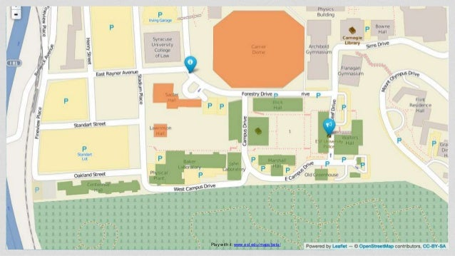 Suny Esf Campus Map.Building A Better Campus Map Dpa1 At Heweb16