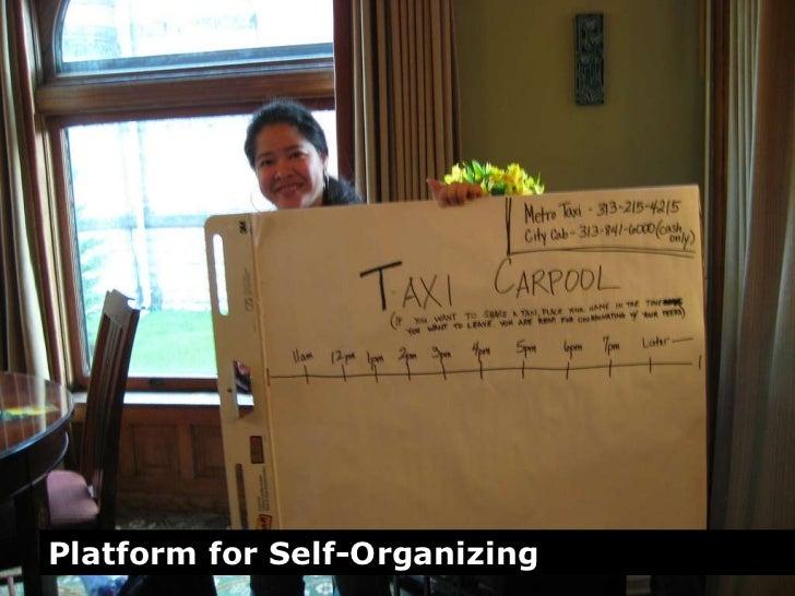 Platform for Self-Organizing<br />