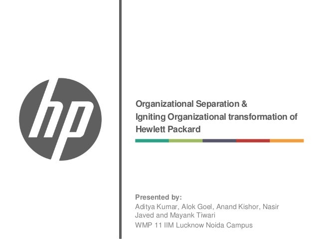 case summary hewlett packard In a recent webinar, brent murphy of hewlett-packard, shared his experience regarding the value proposition of implementing and utilizing the vasont cms to m.