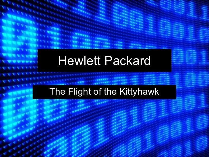 Hp kittyhawk case study analysis