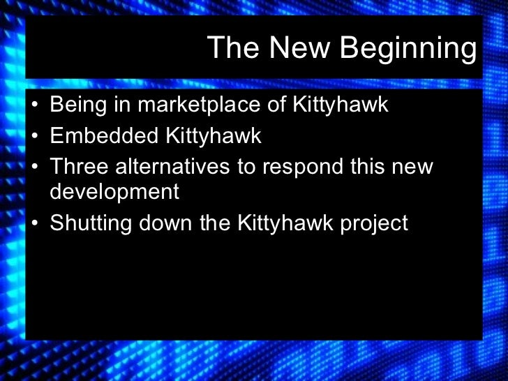 hp kittyhawk case analysis Open document below is an essay on kittyhawk case of hp from anti essays, your source for research papers, essays, and term paper examples.