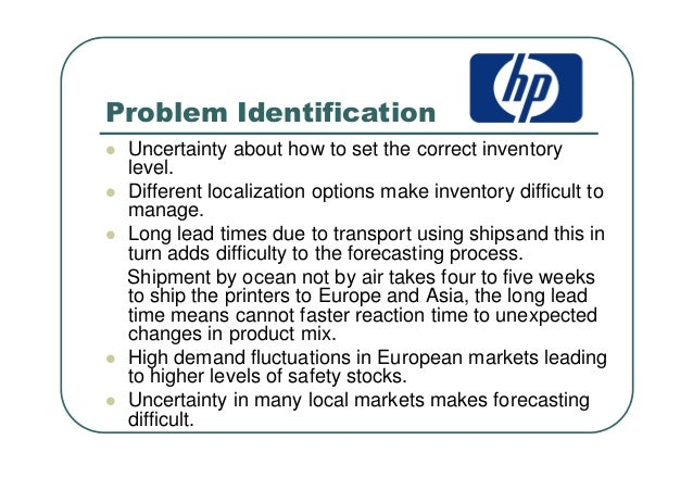 hp printer supply chain case study Case discussion answers for supply chain  key molarity worksheet 3 answers frankenstein reading question answers hp 4580 printer user  crucible study guide.