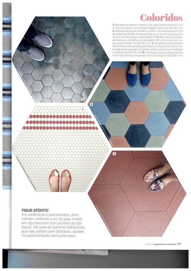 Hexagonais na revista Arquitetura e Construção Slide 3