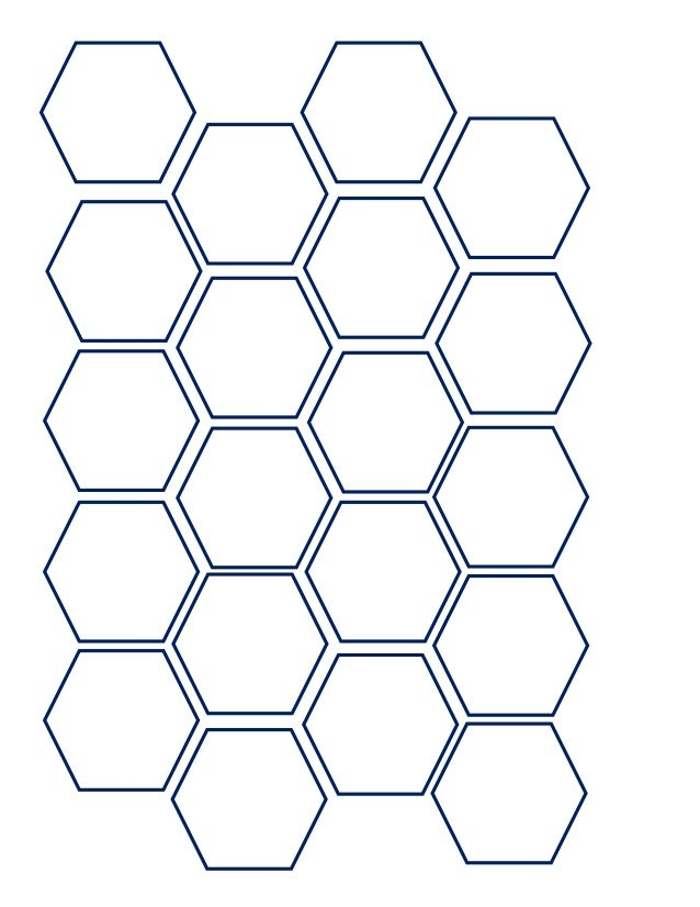 Hexagon template from we 39 re engaged put a ring on for 1 5 inch hexagon template