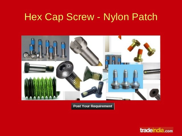 Different Types of Hex Bolts Made from Different Material