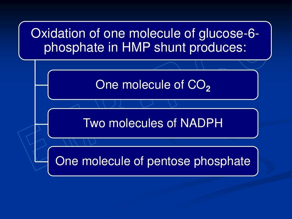 Hexose monophosphate shunt page 11