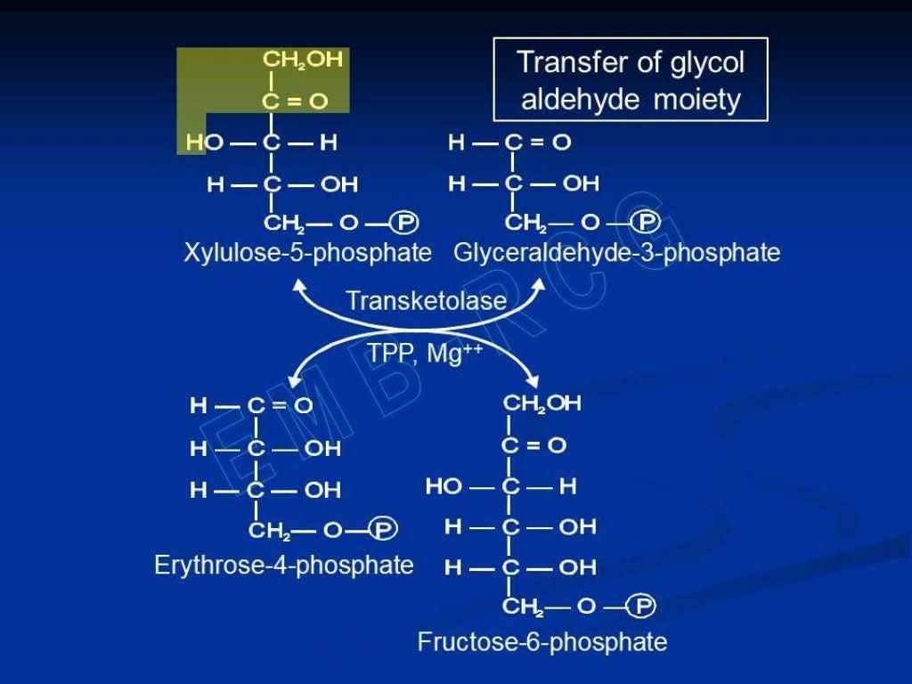 Hexose monophosphate shunt page 29