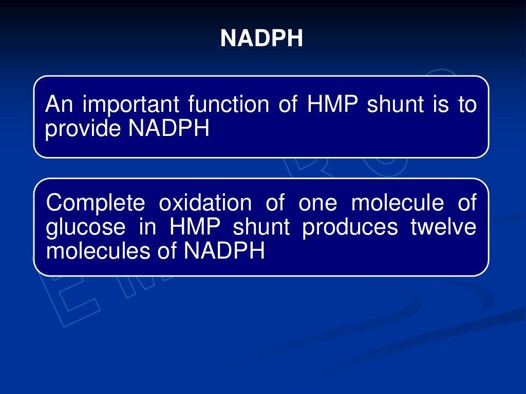 Hexose monophosphate shunt page 40