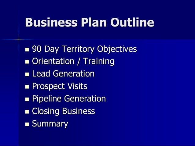 sales rep business plan
