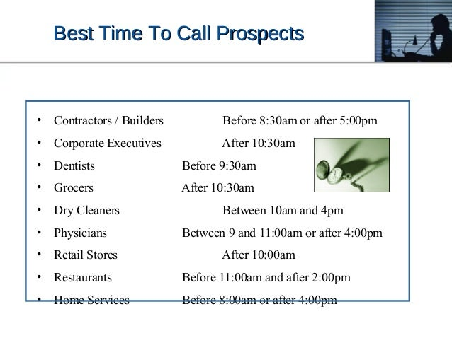 Heyer Prospecting Cold Calling Advanced Process