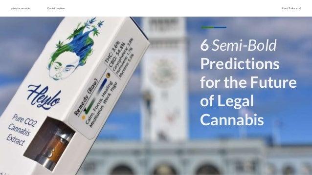 The Future of Cannabis (2018 Blunt Talks - Seattle, WA)