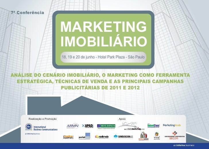 7ª Conferência                               MARKETING                               IMOBILIÁRIO                          ...