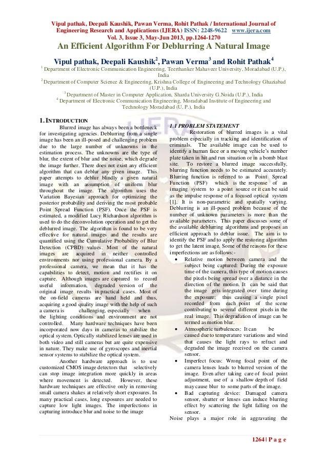 Vipul pathak, Deepali Kaushik, Pawan Verma, Rohit Pathak / International Journal ofEngineering Research and Applications (...