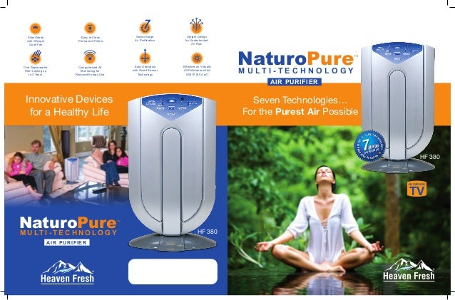 how to clean heaven fresh air purifier