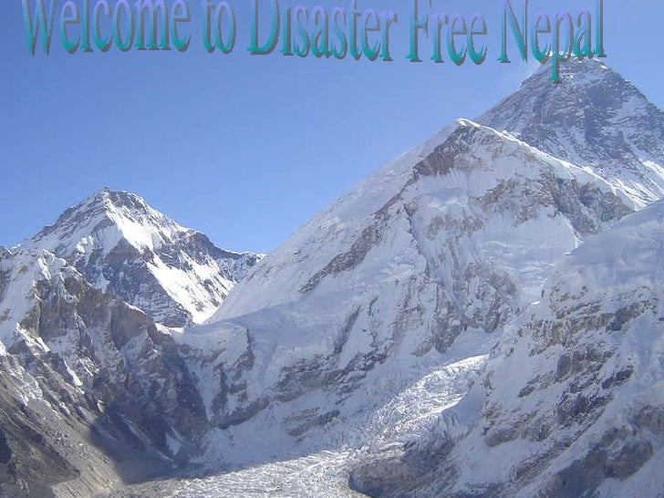Welcome to Disaster Free Nepal