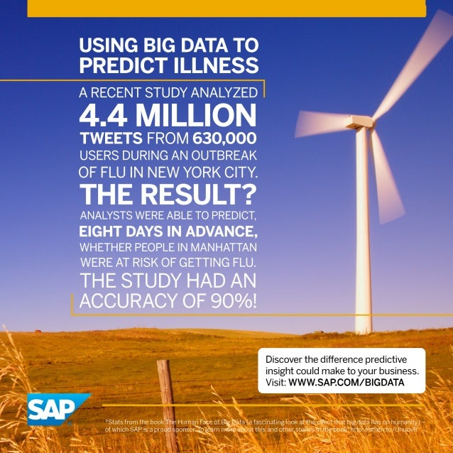 Using Big Data to Predict Illness