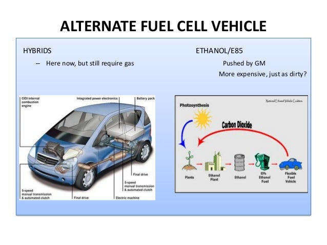 alternative fuels for automobiles research paper The paper discusses the technologies needed to produce personal automobiles that are less fossil fuel dependant the paper analyzes the current research in.