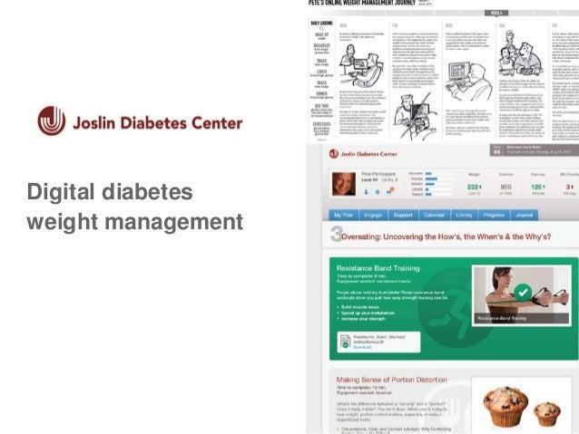 JoslinDigital diabetes weight management