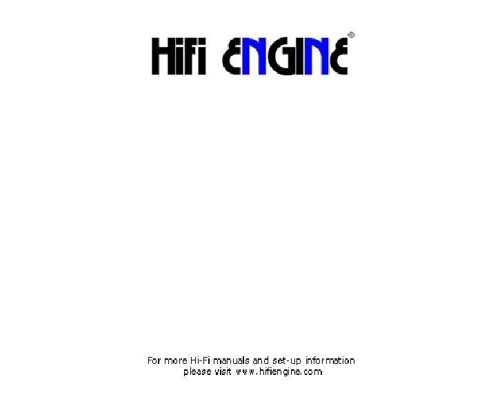 Hfe technics se-a800s_service