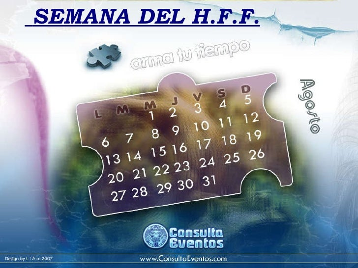 SEMANA DEL H.F.F.