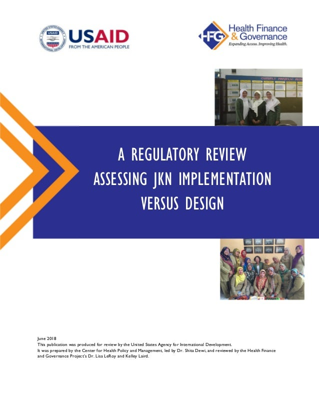 June 2018 This publication was produced for review by the United States Agency for International Development. It was prepa...