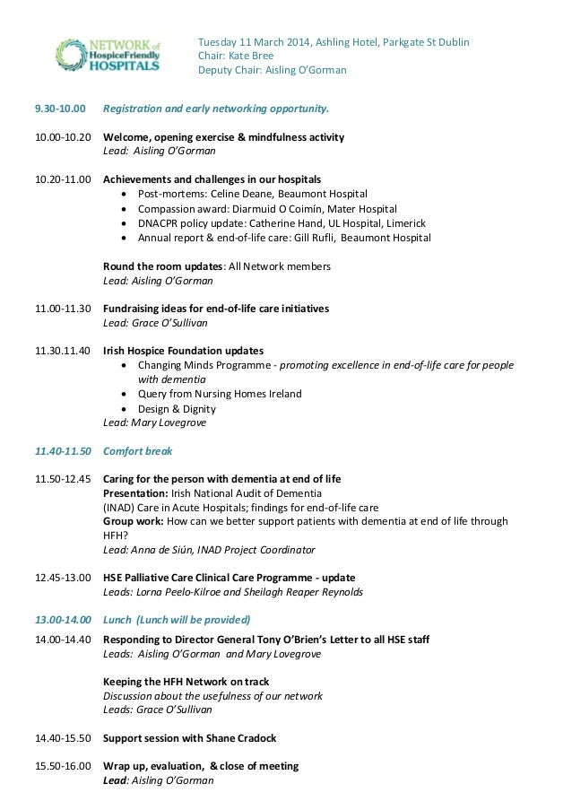 acute hospital network meeting agenda  march 2014   ahn 11