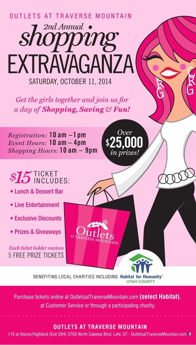 Shopping Extravaganza 2014