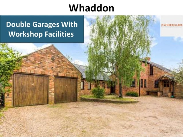 Whaddon Double Garages With Workshop Facilities