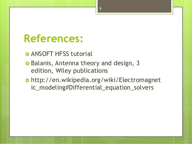 Hfss Manual Pdf