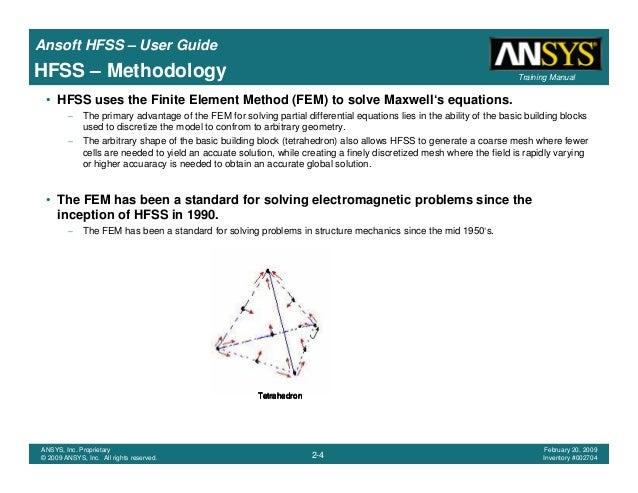 hfss user guide rh slideshare net hfss 15 user manual Hfss RCS