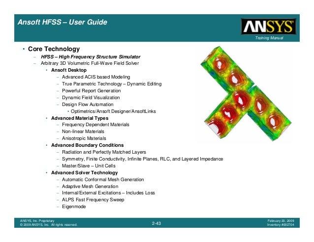 hfss user guide rh slideshare net Ansoft Maxwell ansoft hfss v13 user guide