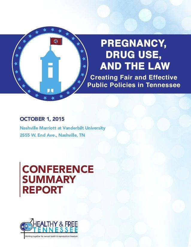 OCTOBER 1, 2015 Nashville Marriott at Vanderbilt University 2555 W. End Ave., Nashville, TN CONFERENCE SUMMARY REPORT