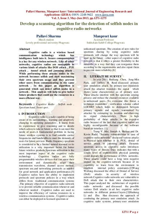 Pallavi Sharma, Manpreet kaur / International Journal of Engineering Research andApplications (IJERA) ISSN: 2248-9622 www....