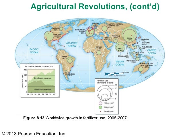 First Agricultural Revolution Map