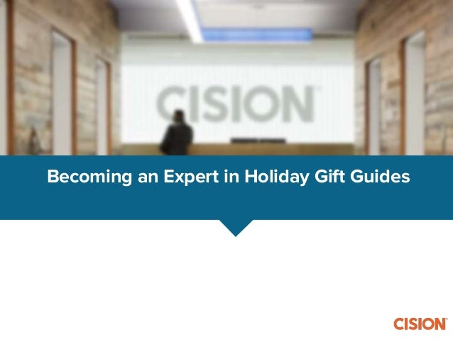 Becoming an Expert in Holiday Gift Guides