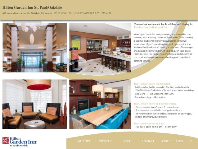 Exceptional ... CONTACTNEXT PRINT CLOSEWELCOME; 2. 2 Hilton Garden Inn ... Great Pictures