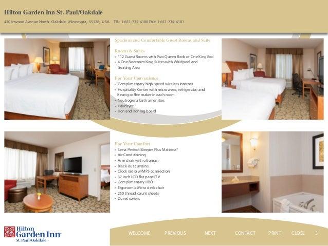 ... CLOSEWELCOME; 3. 3 Hilton Garden Inn ...